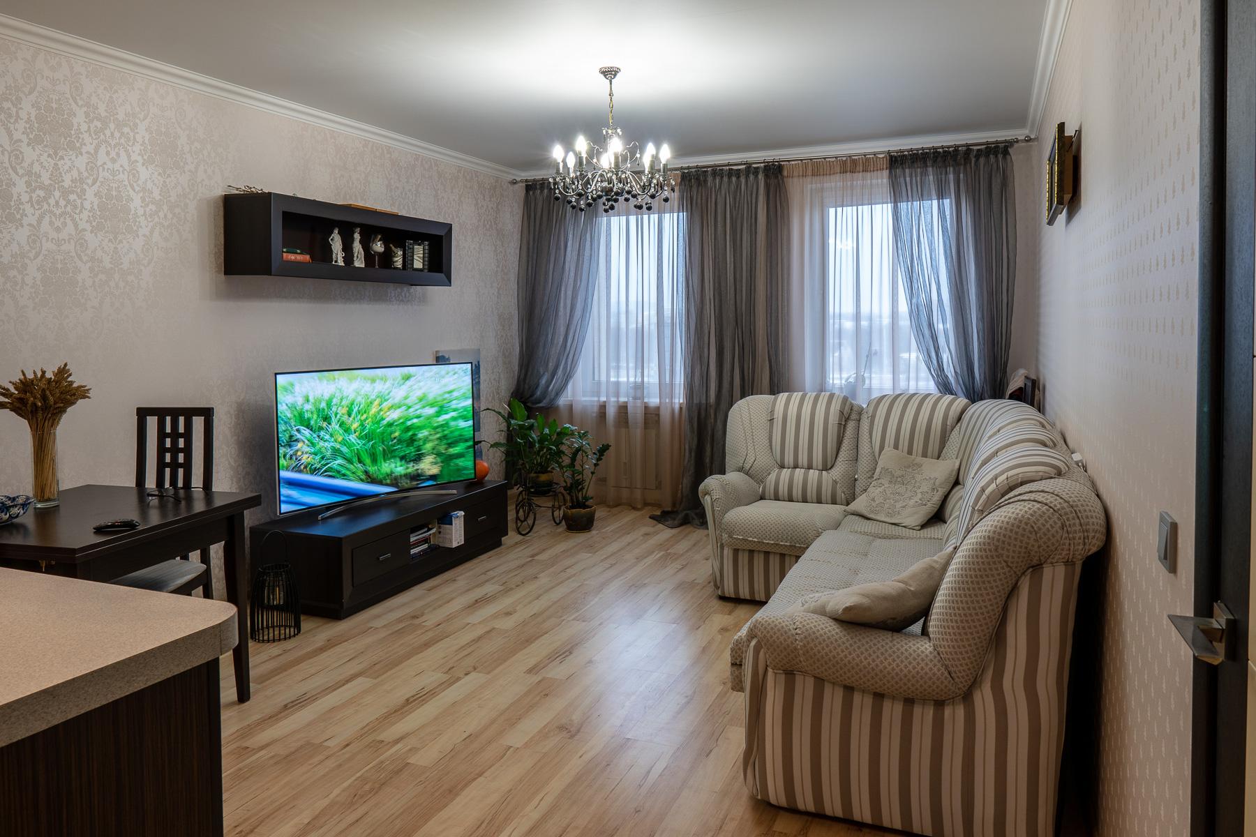Просторная квартира-студия на пр.Дзержинского, 80